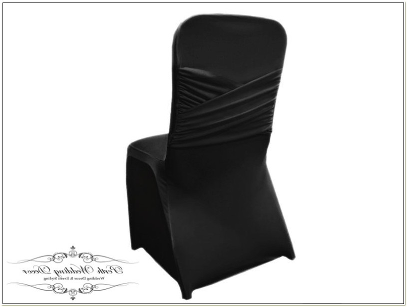 White Lycra Chair Covers Perth