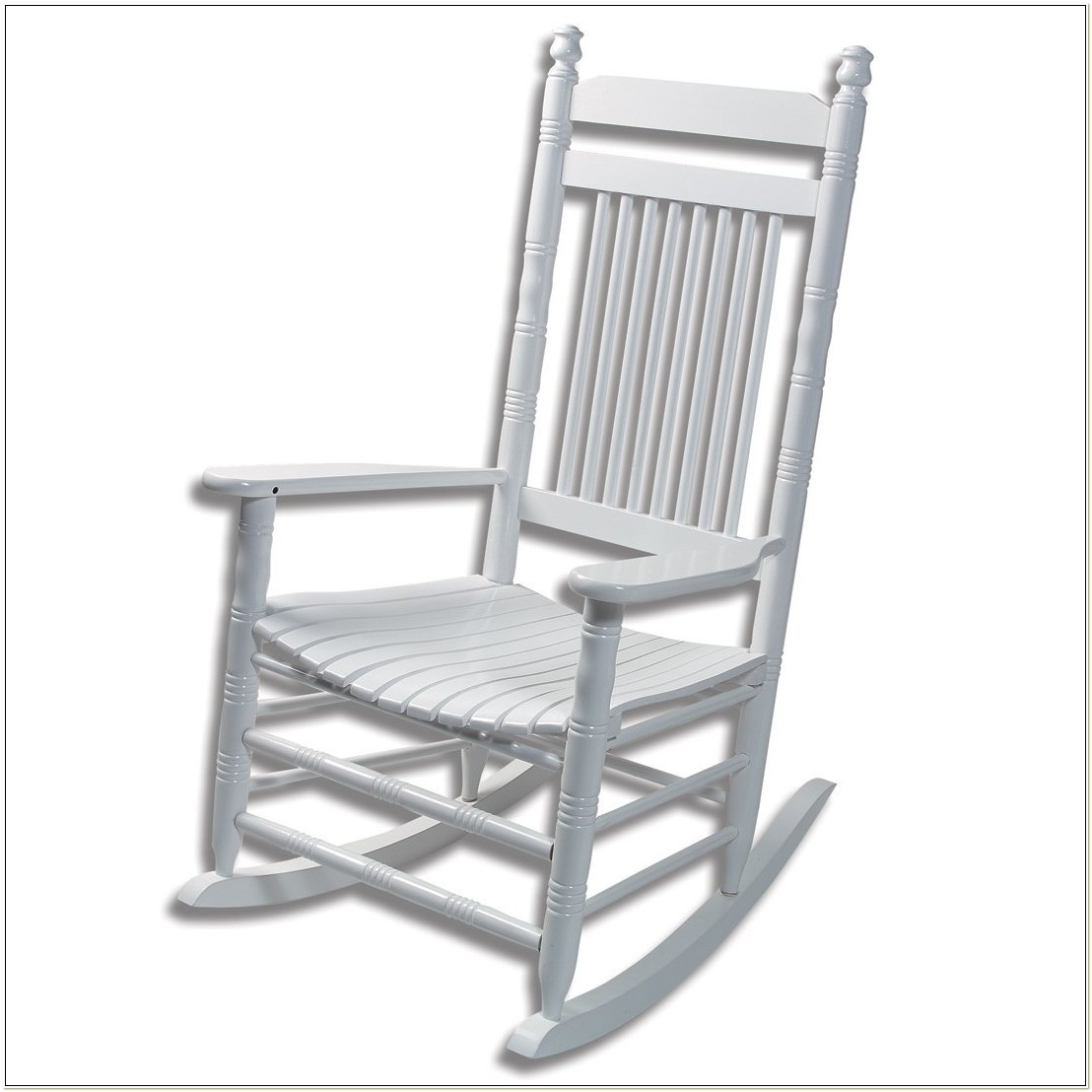 White Porch Rocking Chairs Cracker Barrel