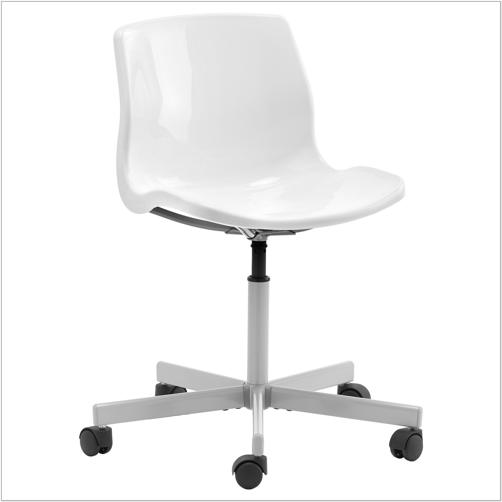 White Swivel Office Chair Ikea