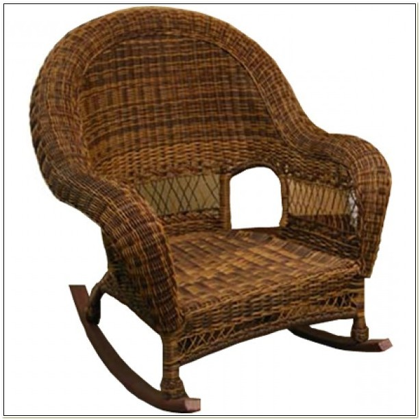 Wicker Rocking Chair Indoor