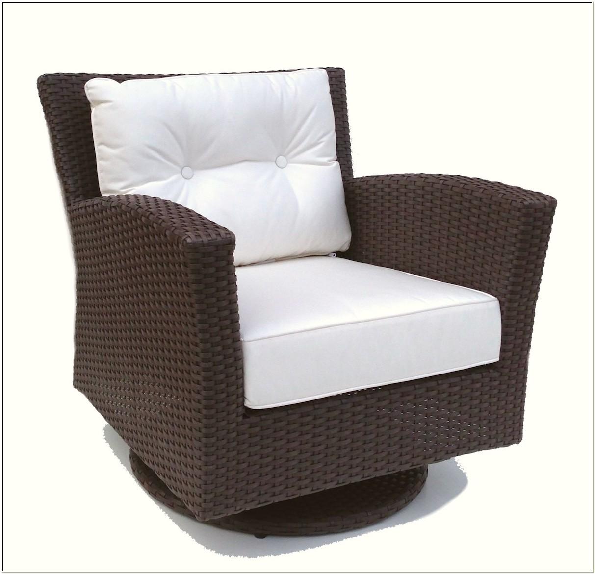 Wicker Swivel Rocker Patio Chairs