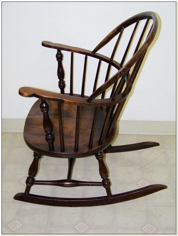 Windsor Rocking Chair Antique
