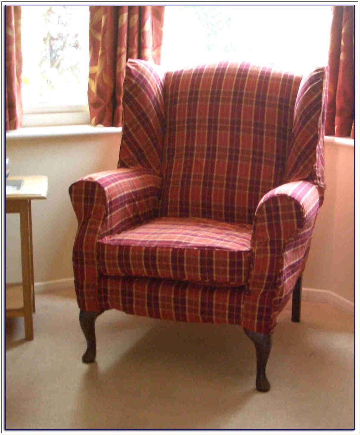 Wing Chair Slipcovers Australia
