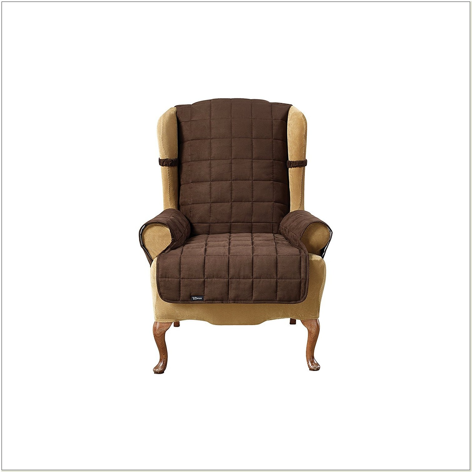 Wingback Chair Covers 2 Piece