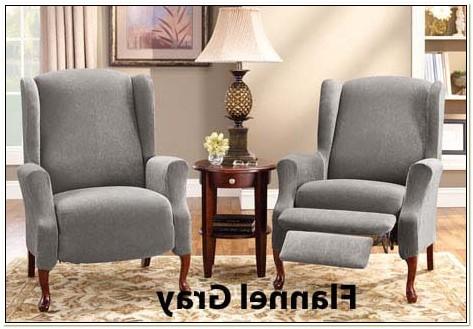 Wingback Chair Slipcover Box Cushion