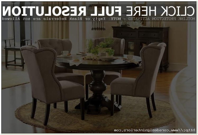 Wingback Chairs Dining Room Furniture