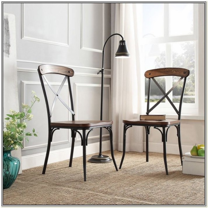 Wood And Metal Dining Chairs Ebay