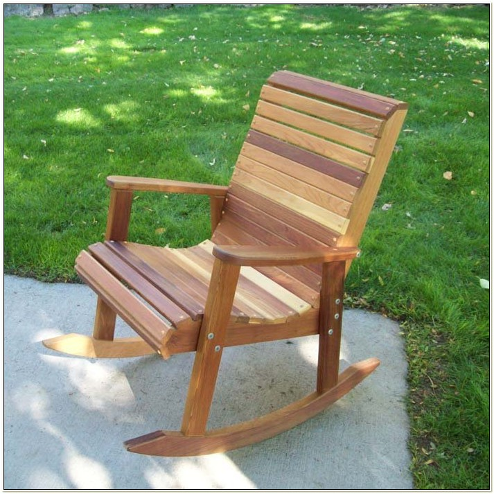 Wood Outdoor Rocking Chair Plans