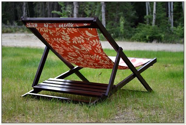 Wood Sling Beach Chair Plans
