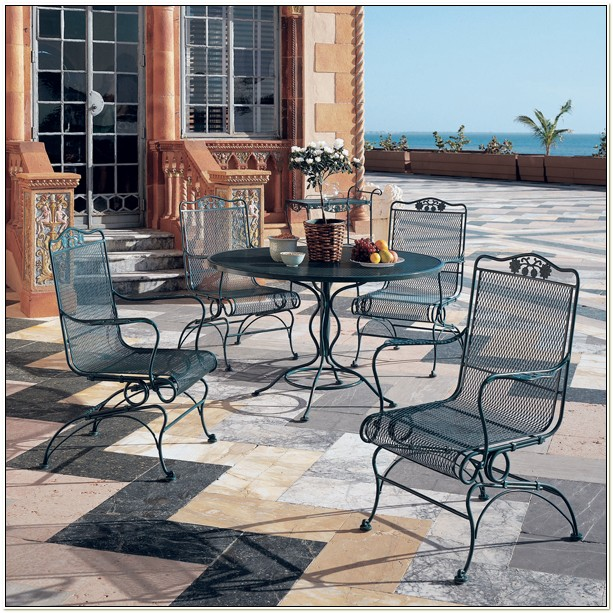 Woodard Wrought Iron Furniture Paint