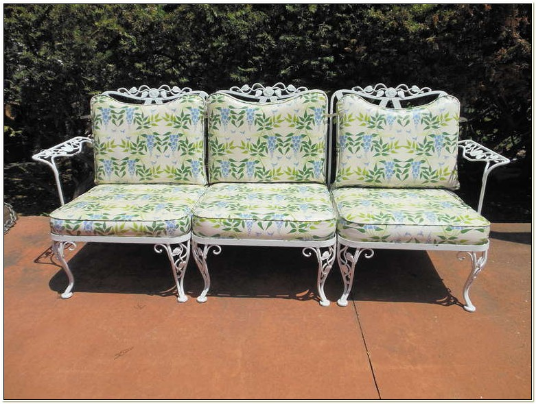 Woodard Wrought Iron Furniture Vintage