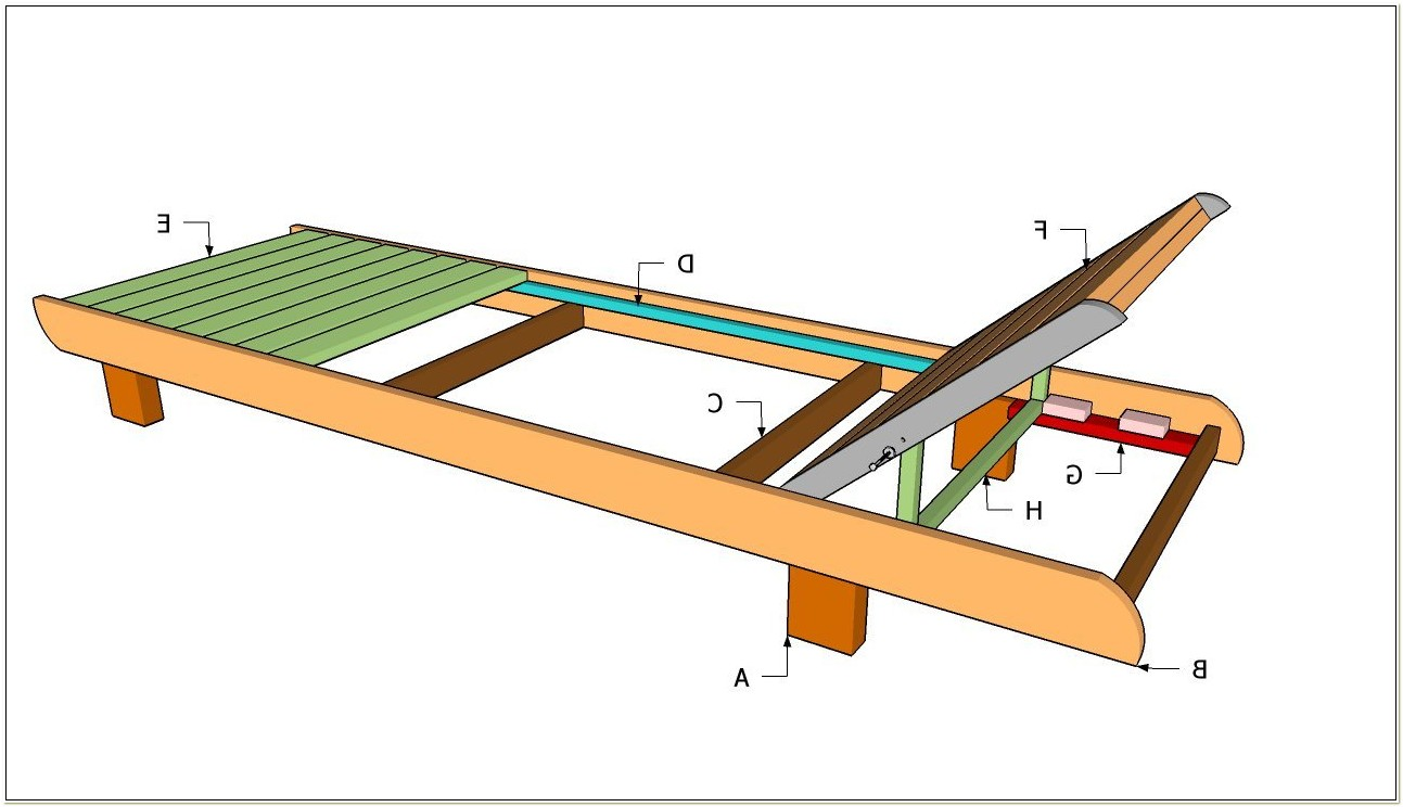 Wooden Deck Lounge Chair Plans