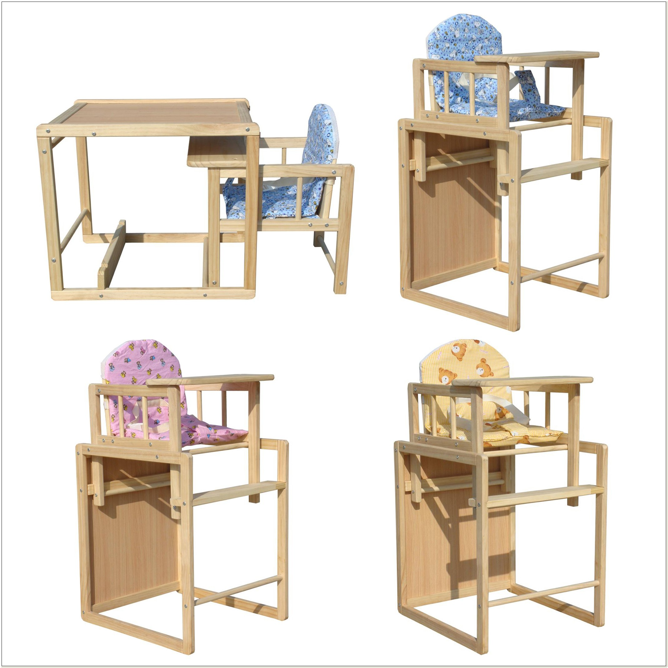 Wooden Feeding Chair For Babies