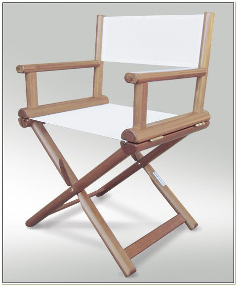 Wooden Folding Directors Chair