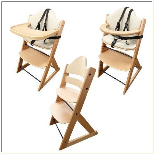 Wooden High Chair Like Stokke