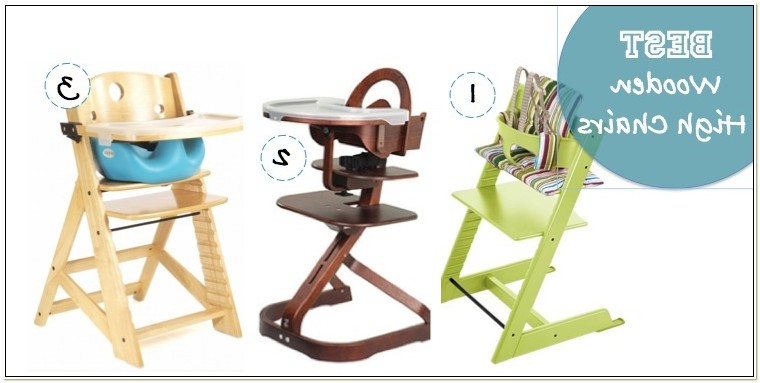 Wooden High Chair Stokke
