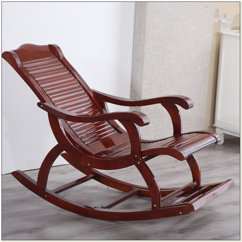 Wooden Rocking Chairs For Adults Indoor