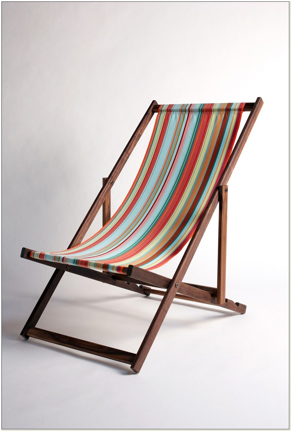 Wooden Sling Beach Chairs