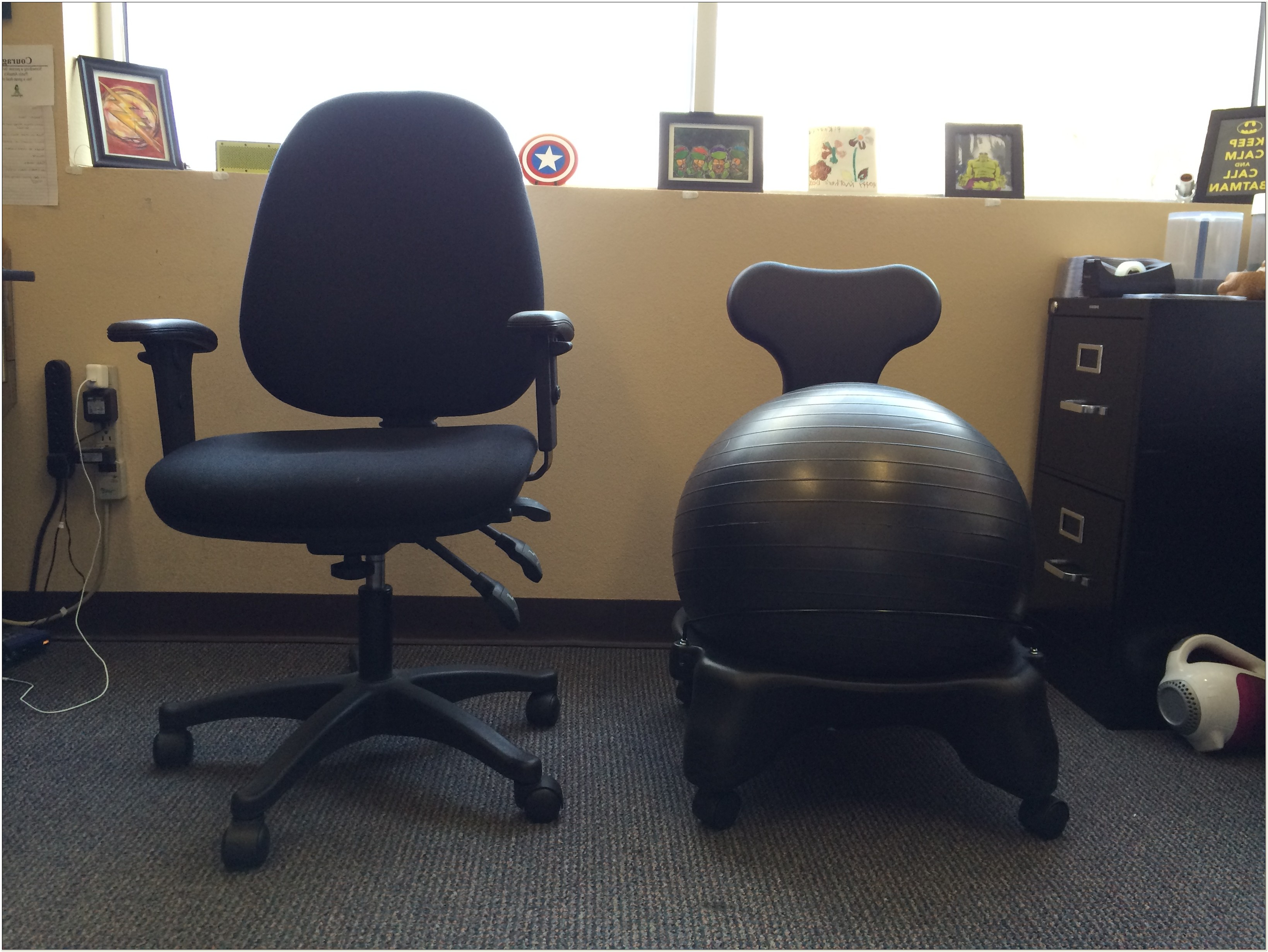 Yoga Ball Office Chair Good Or Bad