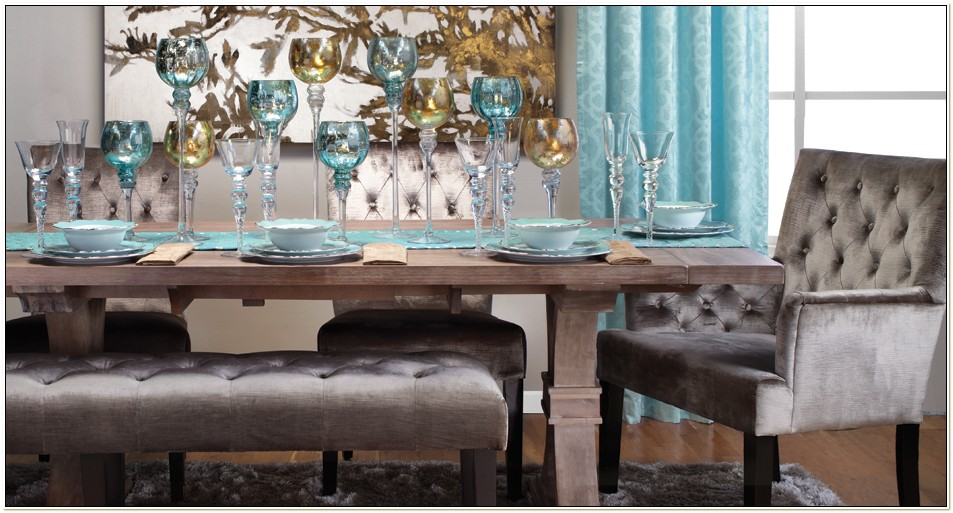 Z Gallerie Dining Table Set