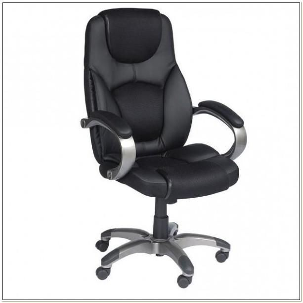 Z Line Designs Leather Executive Chair Black