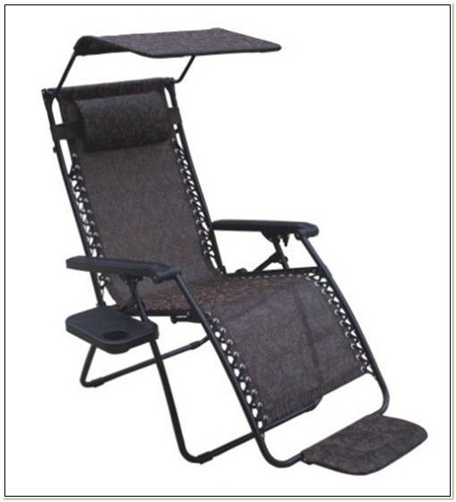 Zero Gravity Chair With Canopy And Footrest