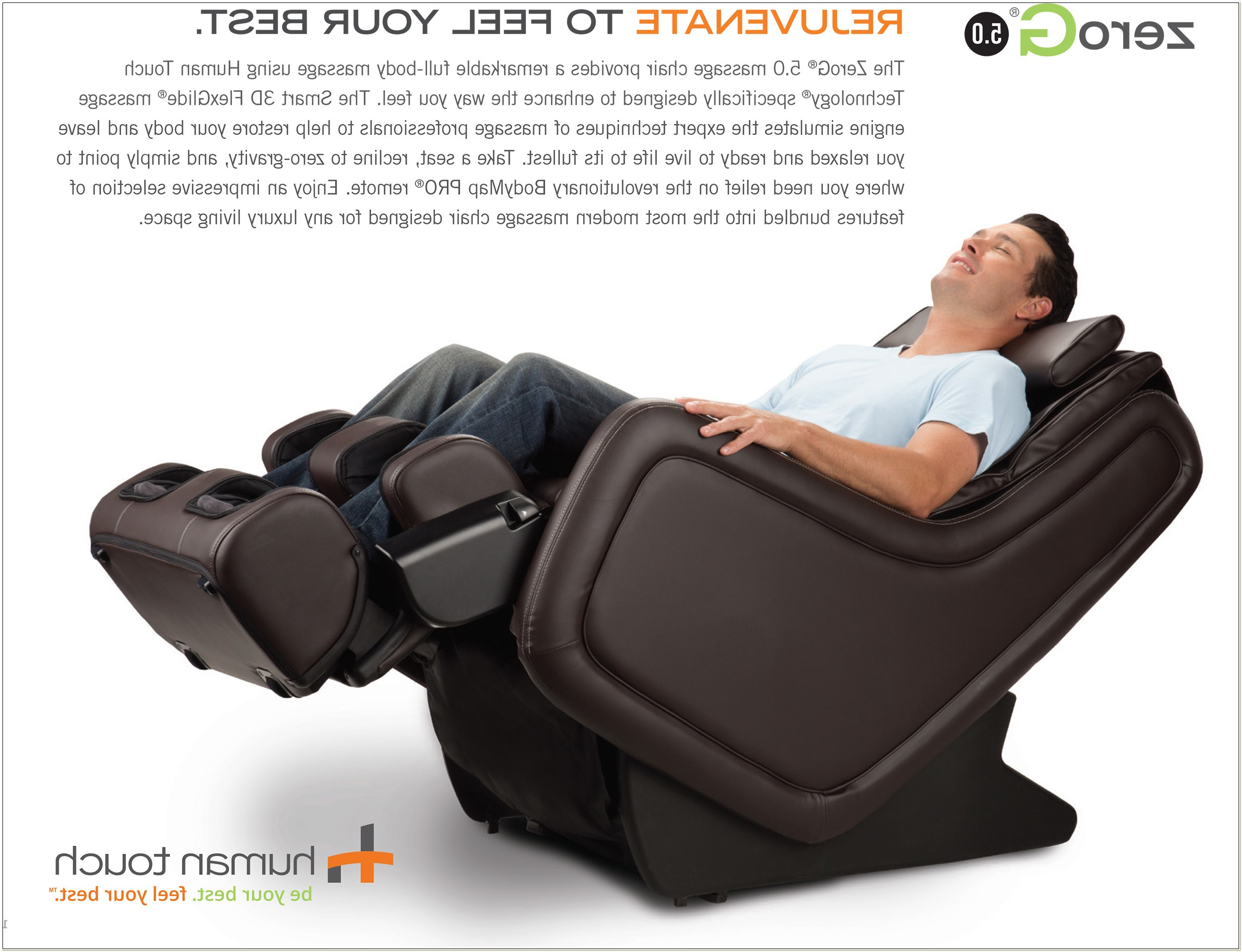 Zero Gravity Human Touch Home Massage Chair