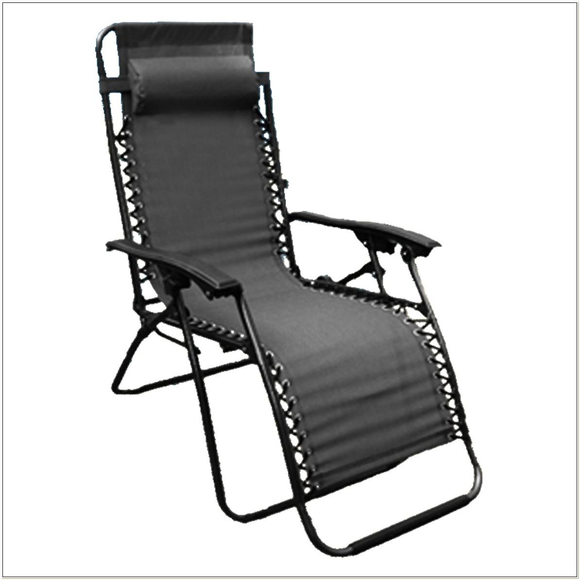 Zero Gravity Reclining Garden Lounge Chair