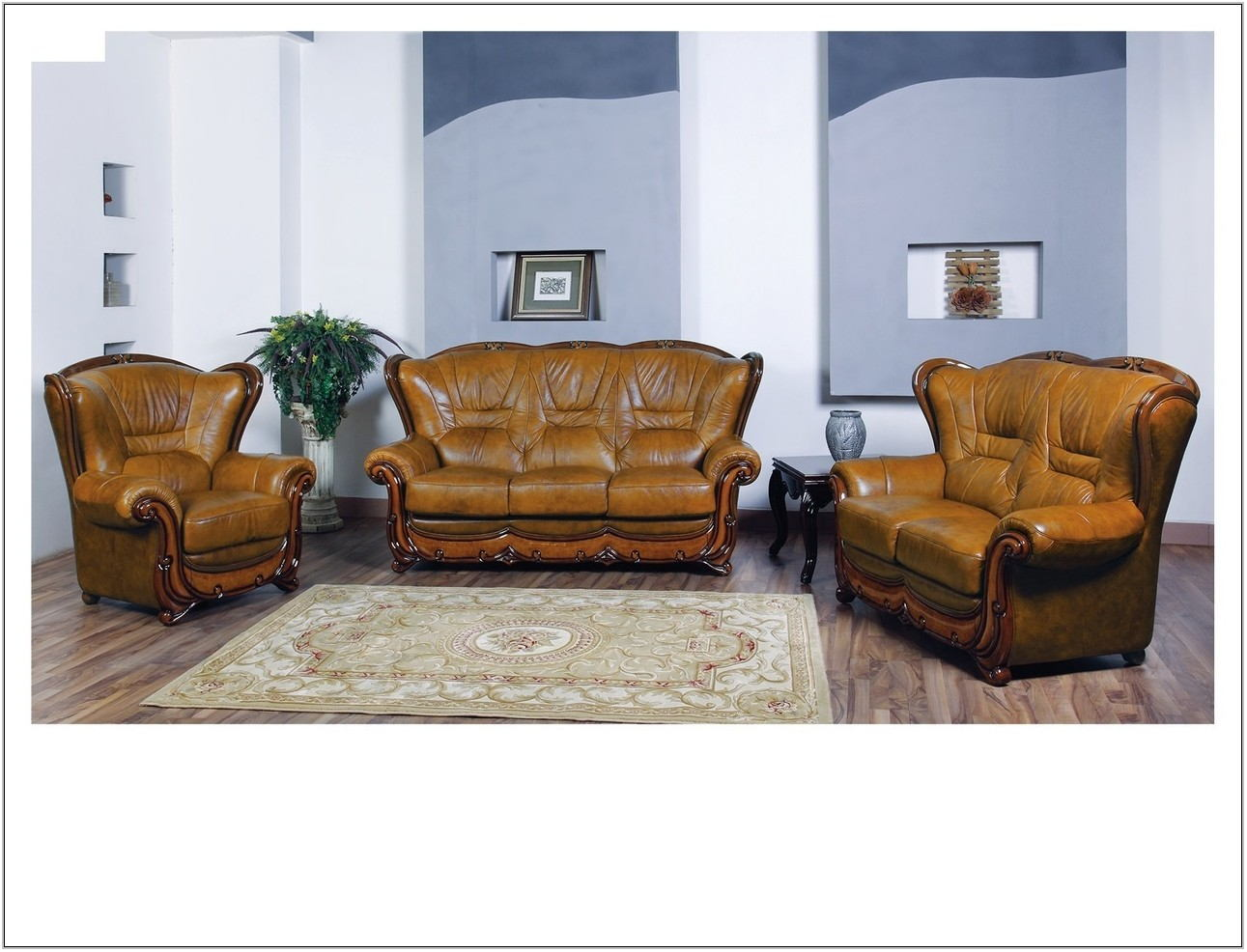 100 Leather Living Room Sets