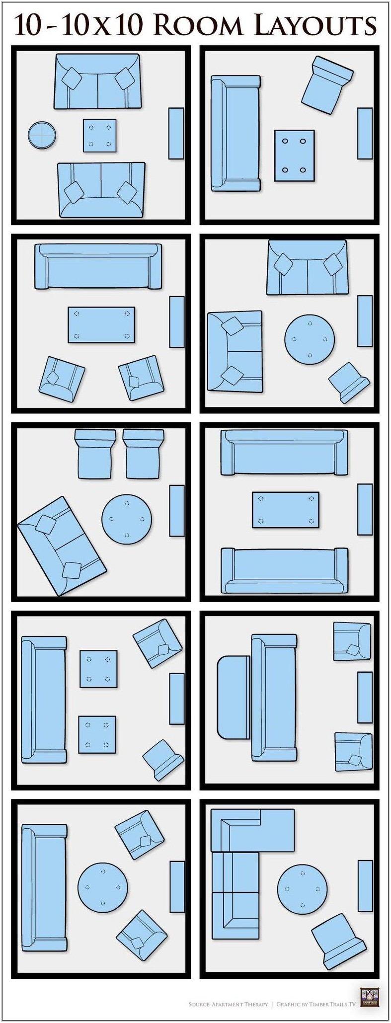 10x10 Living Room Ideas