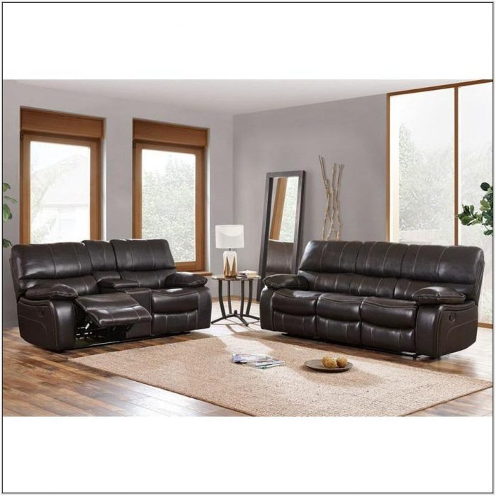 2 Piece Black Living Room Set