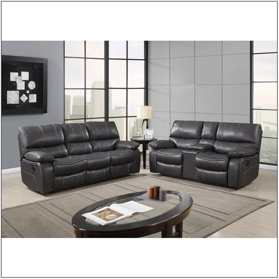 2 Piece Leather Living Room Set