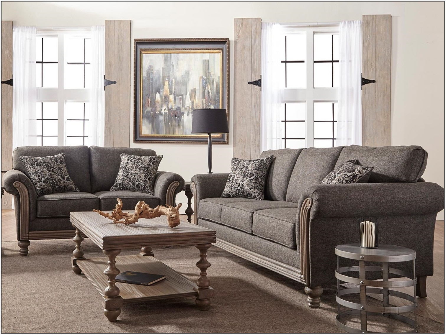 2 Piece Living Room Furniture Set
