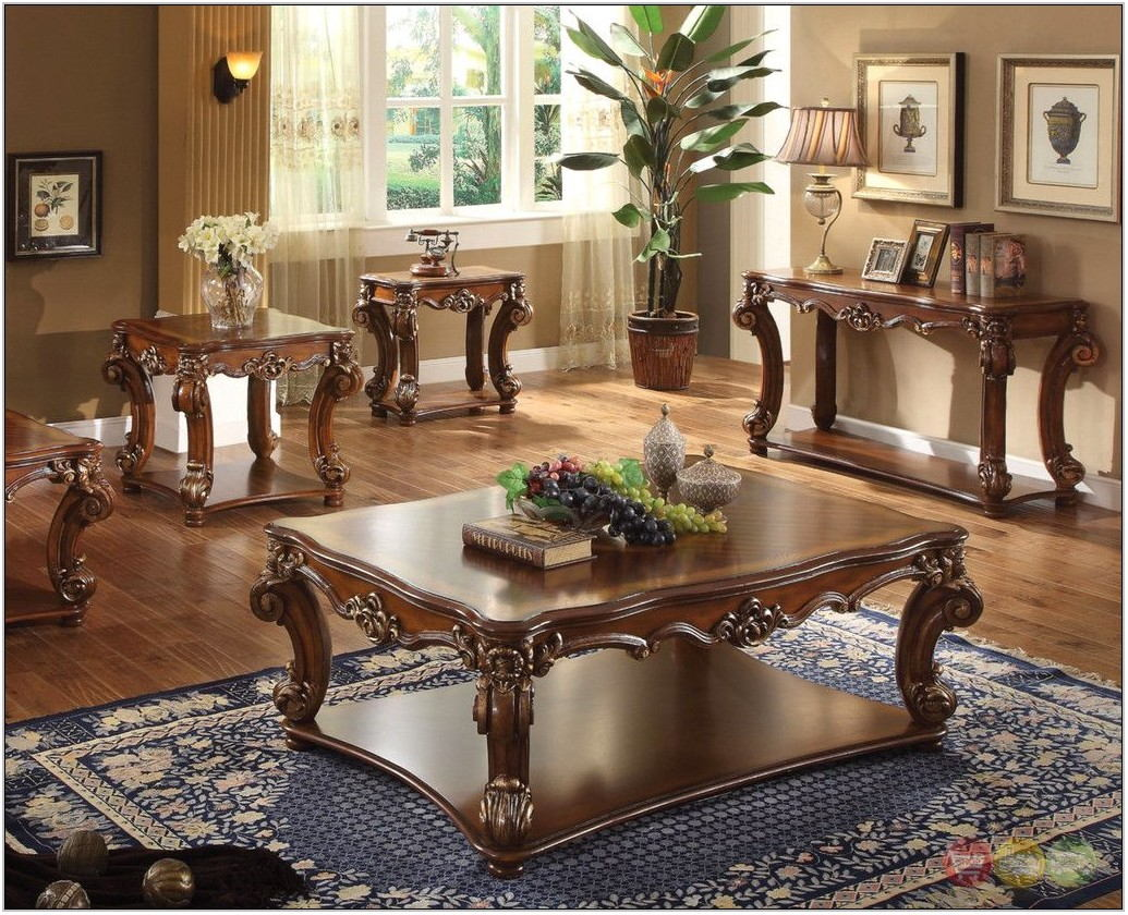 3pc Living Room Table Set