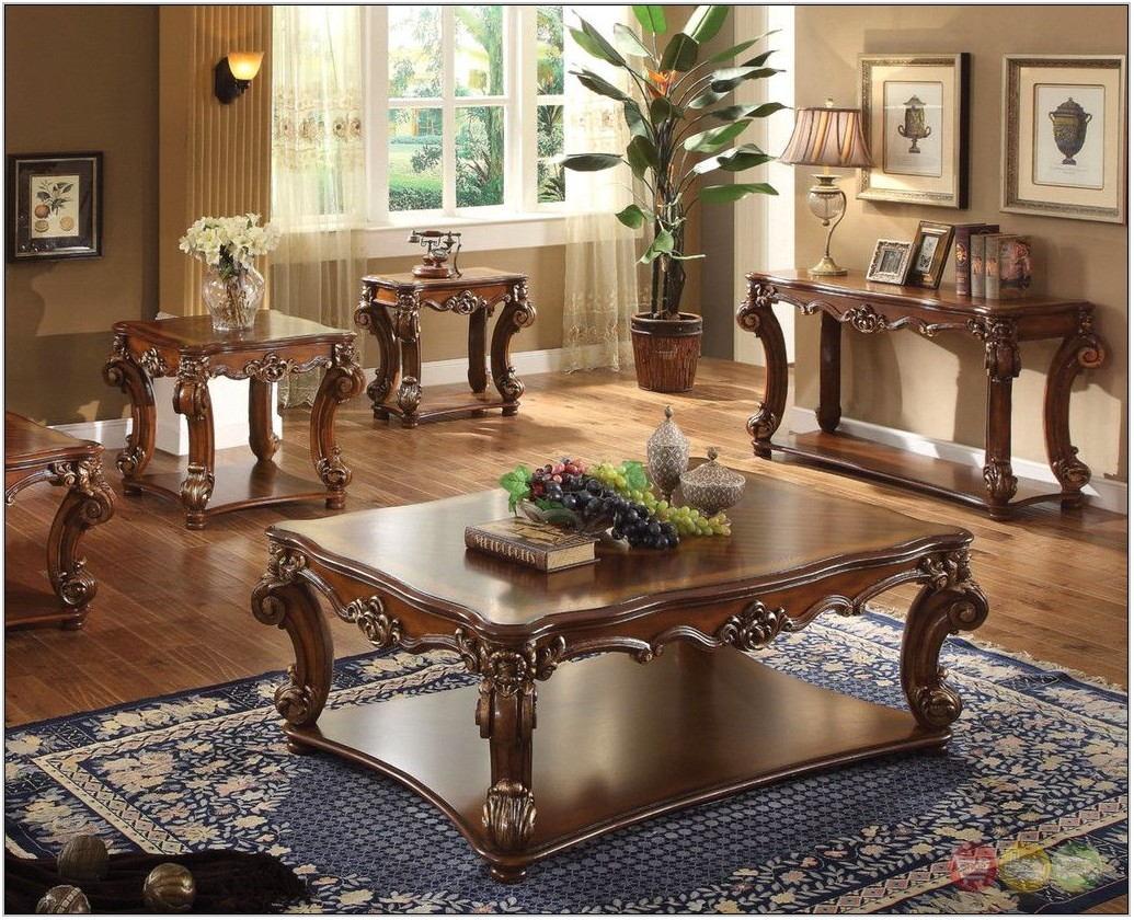 3pc Living Room Table Set