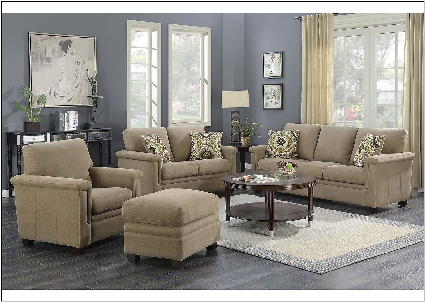 4 Piece Living Room Furniture