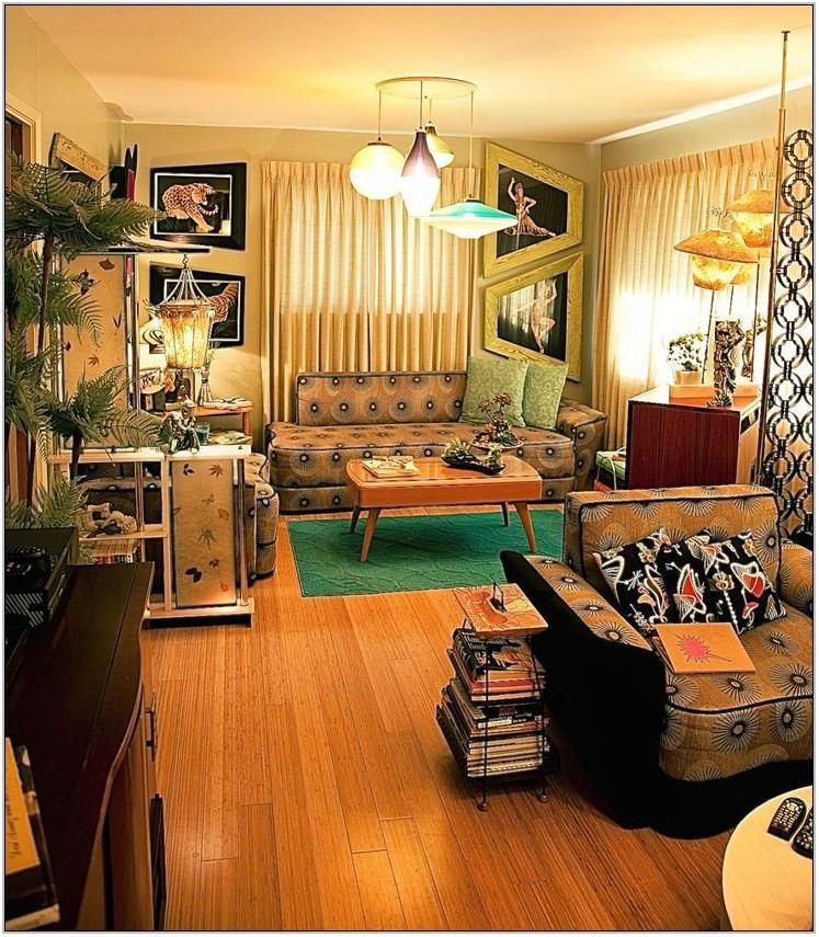50s Living Room Decor