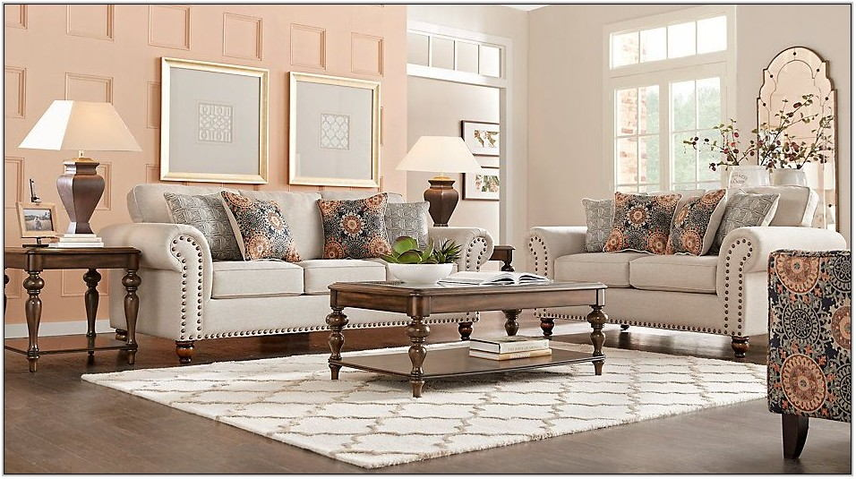 8 Pc Living Room Sets