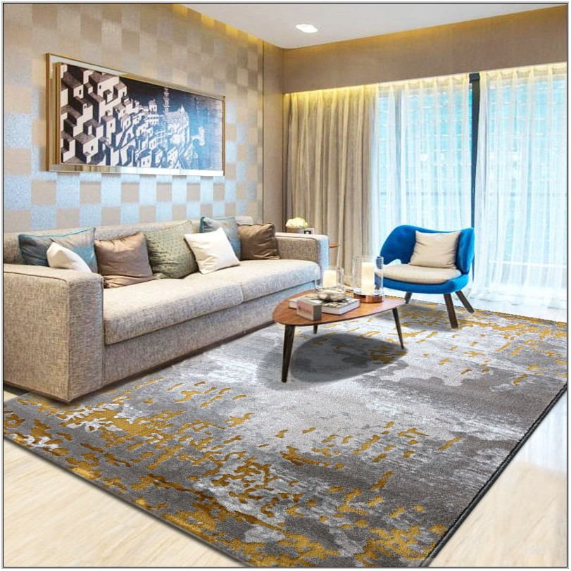 Abstract Living Room Rugs