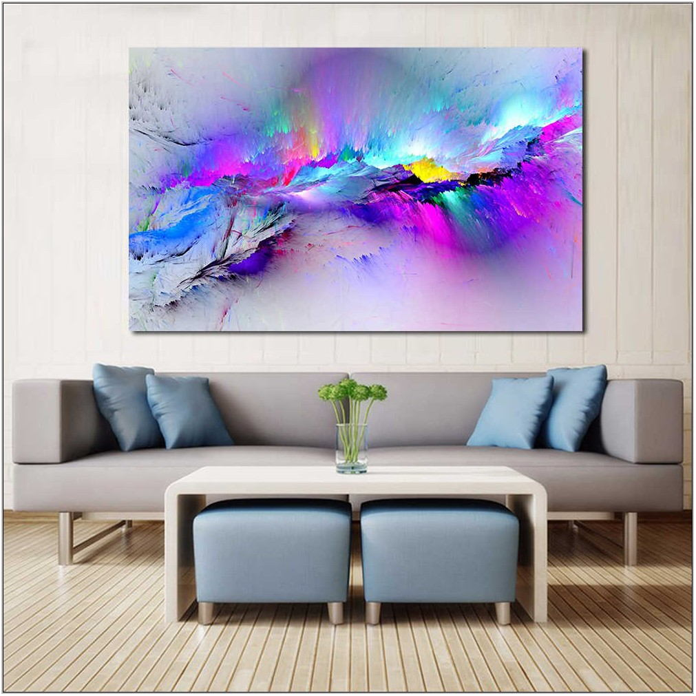 Abstract Pictures For Living Room