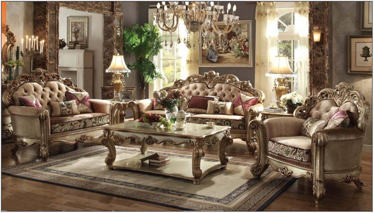 Acme Vendome Living Room Set