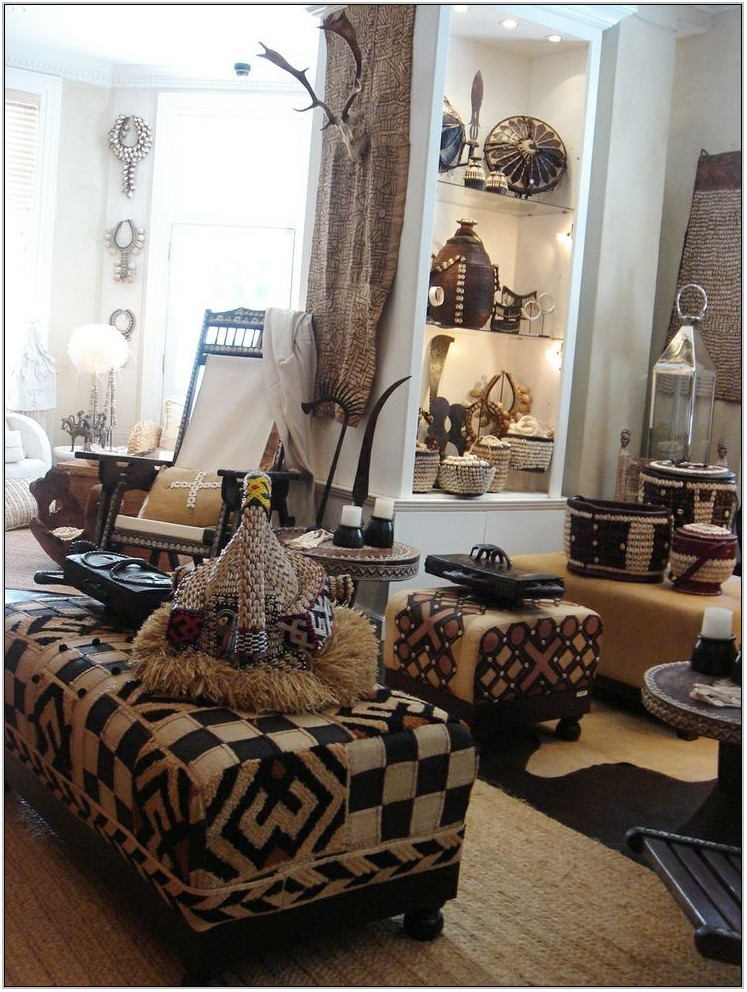 African Living Room Decorating Ideas