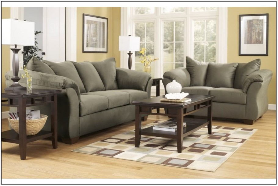 American Freight 7 Pc Living Room