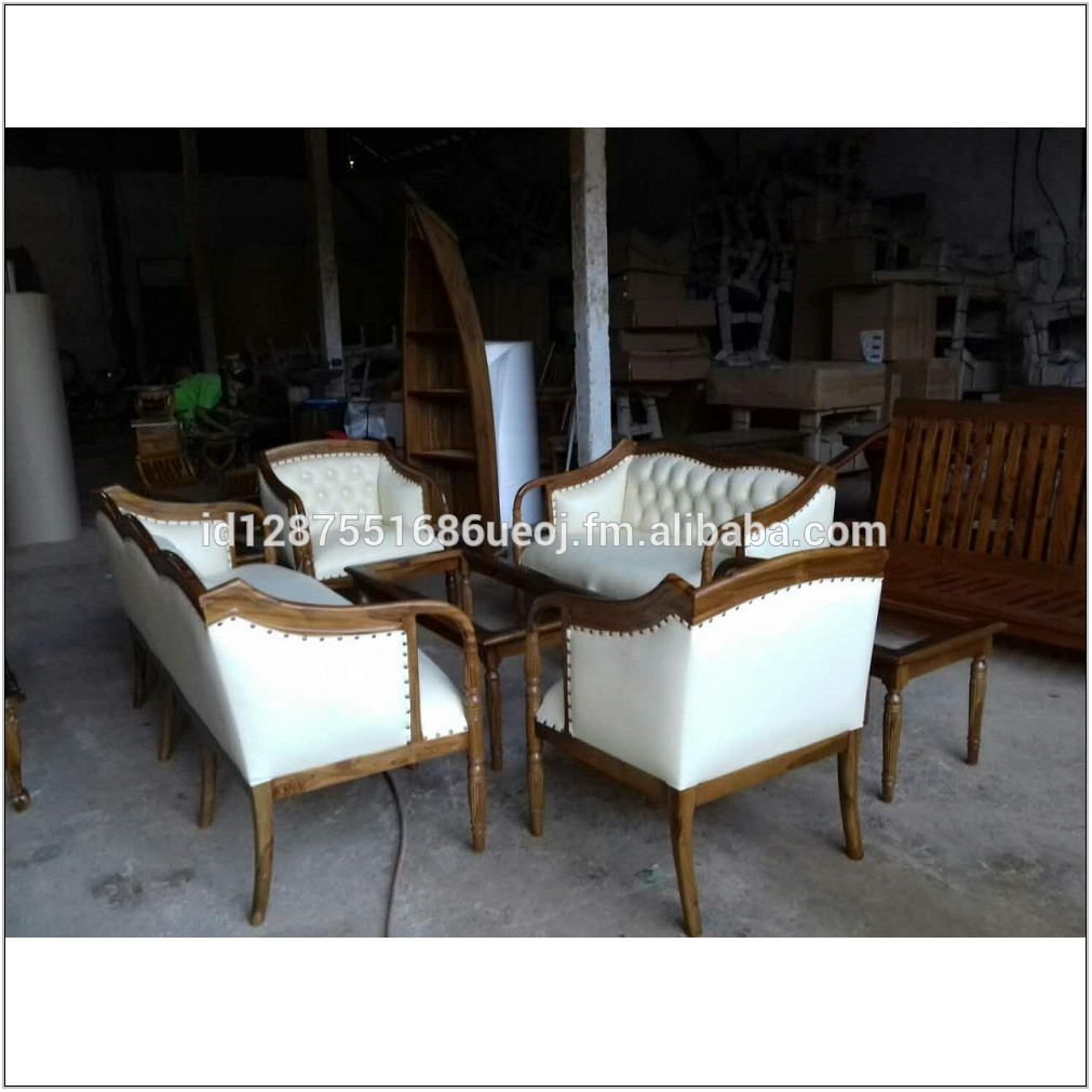 Antique White Living Room Furniture