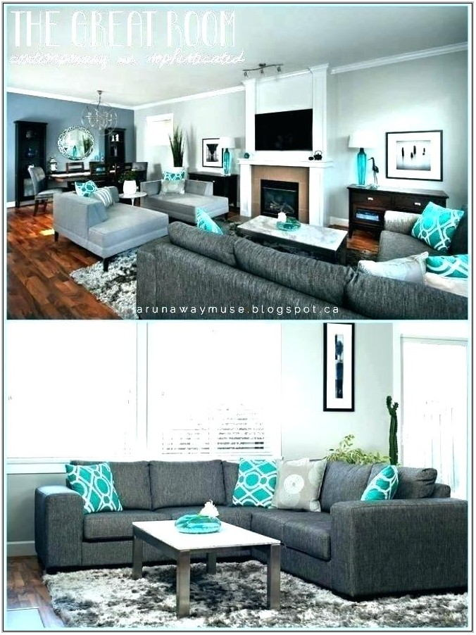 Aqua Living Room Furniture