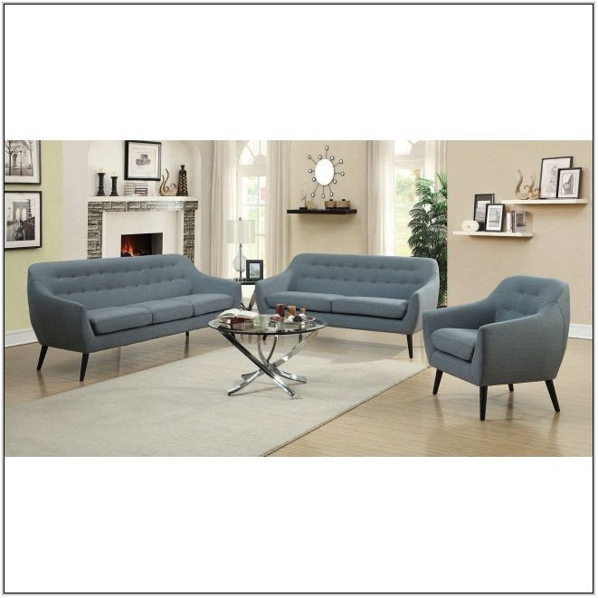 Aqua Living Room Set