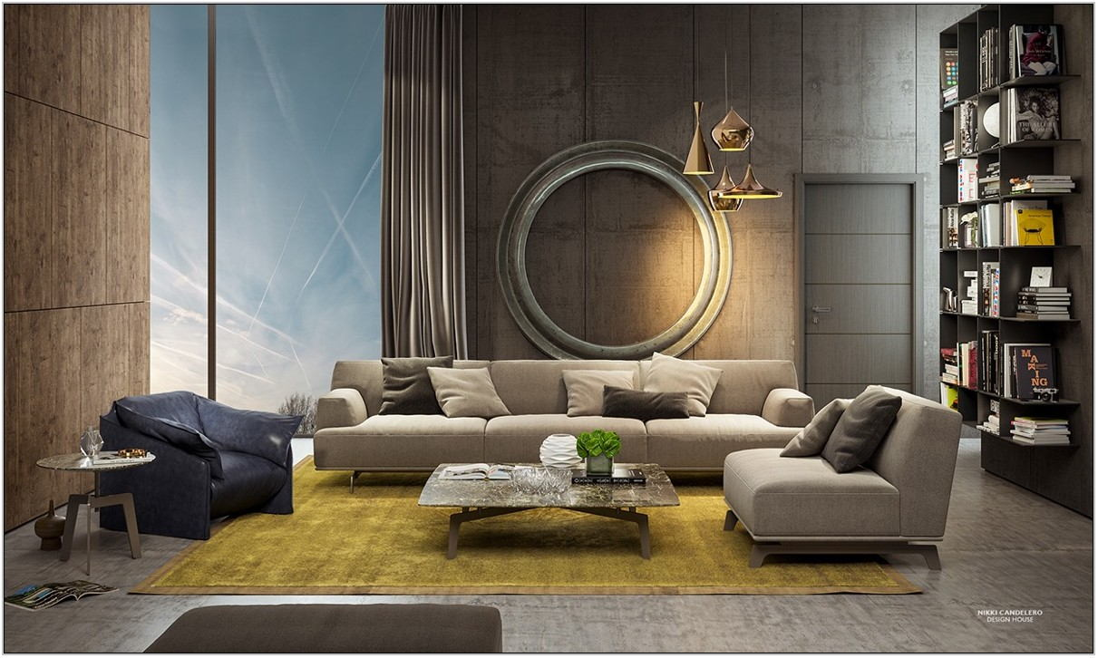 Art Deco Living Room Ideas