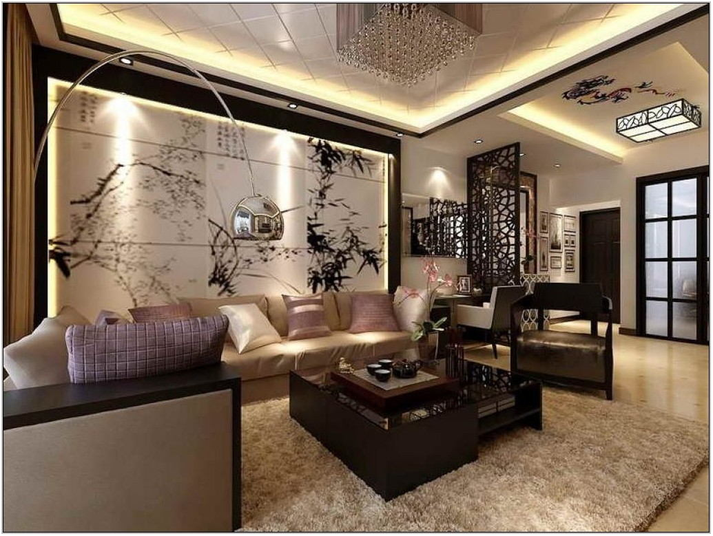 Asian Decorating Ideas Living Room