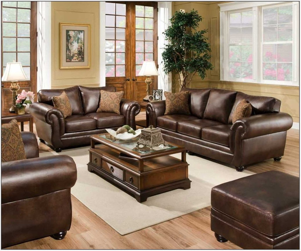 Badcock Leather Living Room Sets