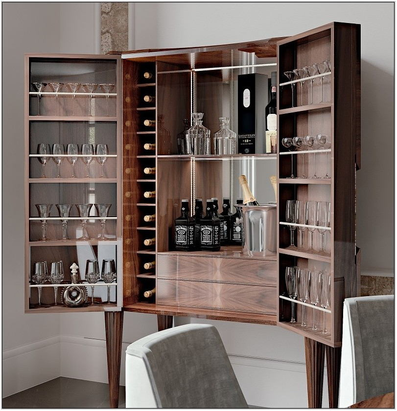 Bar Cabinet Living Room